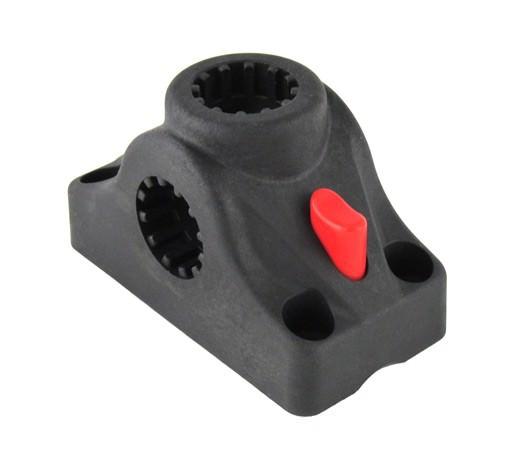 подставка под удочку черная в комплекте с креплением cfmt303